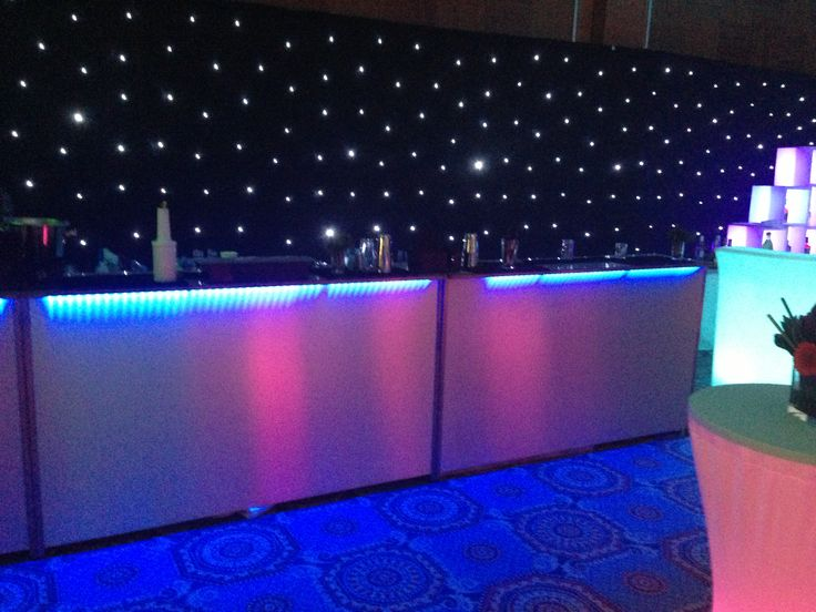 Some shots of our set-up before another big event