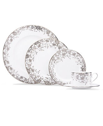 Marchesa by Lenox Dinnerware, French Lace Collection - Fine China - Dining & Entertaining - Macy's $165