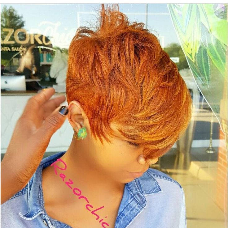 "6,359 Likes, 98 Comments - RAZOR CHIC (@razorchicofatlanta) on Instagram: ""COPPER BLONDE Razorchicofatlanta.com 💅🏾 REAL HAIR😍  Get your life💁🏼Razorchicofatlanta.com…"""
