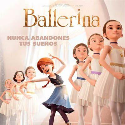 Una bailarina especial que consigue sus sueños. #ballerina #evarubiano @evarubiano #cineparaniños #estrenos