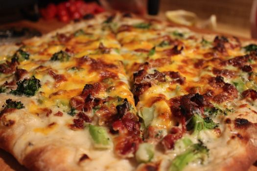 Pizza, Bacon and Lemon on Pinterest