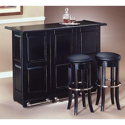 Swing Open Portable Bar Kohls Com Home Bar Cabinet