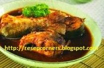 resep dan cara membuat ikan bandeng siraman saus rebon enak dan pedas