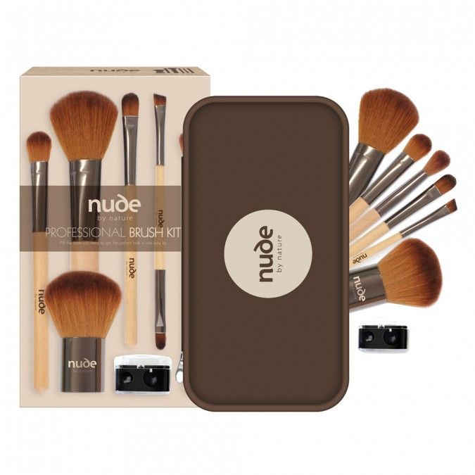 Nude By Nature Nude By Nature Get the Nude Look 8 Piece Brush Kit 1 ea