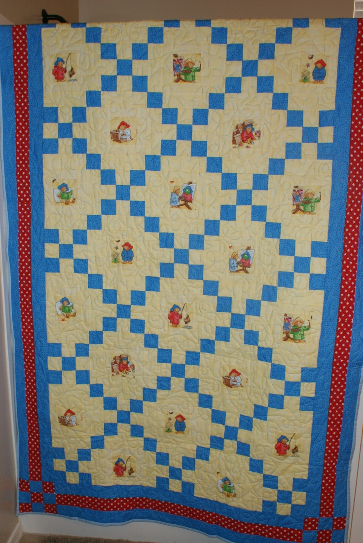 38 best Paddington quilts images on Pinterest | Paddington bear ... : paddington bear quilt - Adamdwight.com