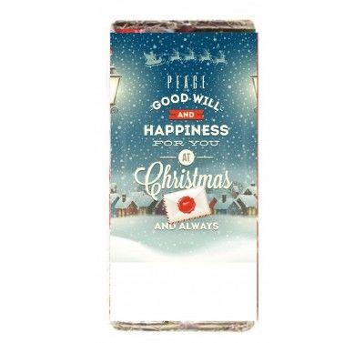 Σοκολάτα χριστουγεννιάτικο σχέδιο good will