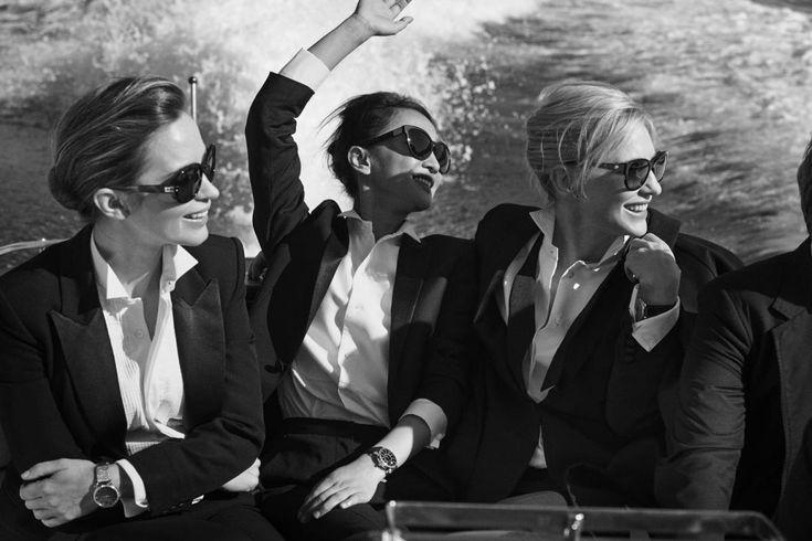 Emily Blunt, Cate Blanchett, Zhou Xun
