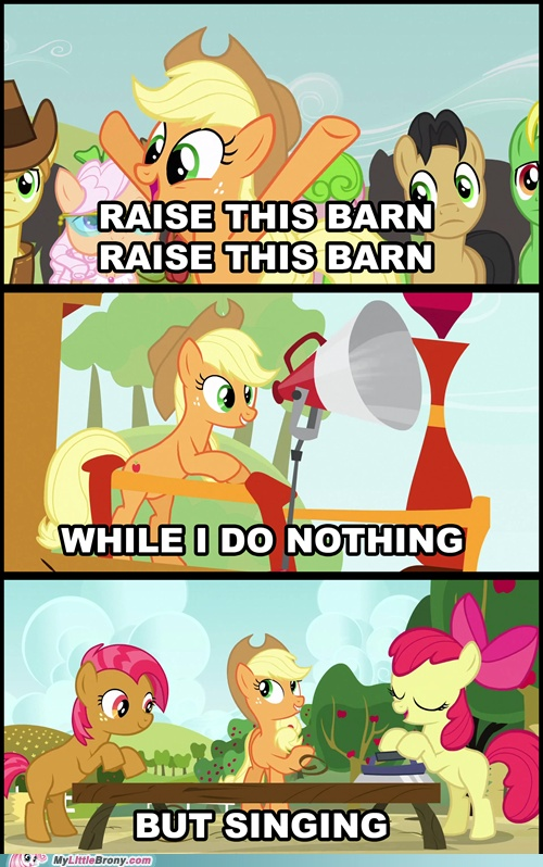 I know it's mean to post this cuz I love My little pony but that is like so true and hilarious