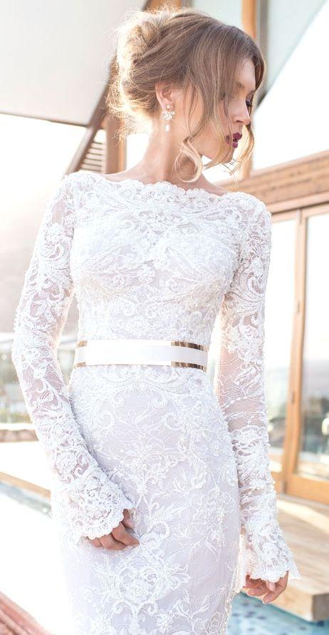 Elegant wedding dress. Disregard the future husband, for the present time let us…