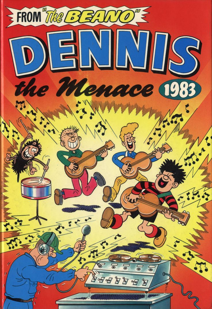 Great cover featuring Dennis' band The Dinmakers. From 1983.