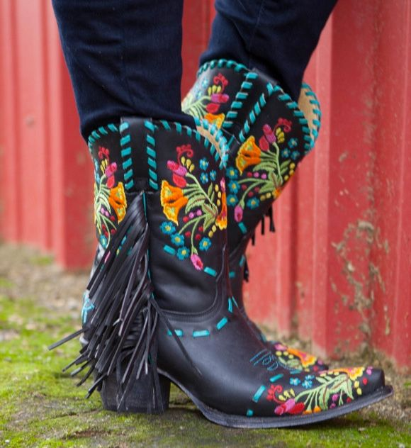 Rodeo Quincy Gloria Boot, $698 (available for pre-order) Most boots are made for walking, but these boots were made for turning heads. Whether you walk, run or kick some ass in them is completely up to you! The great thing about wearing funky boots like this, is you don't need to stress out about the …