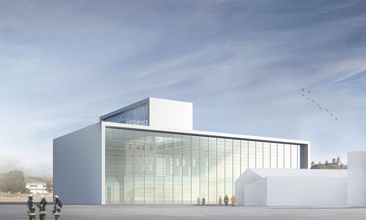gmp architekten will build the new State Fire Brigade School in Wurzburg
