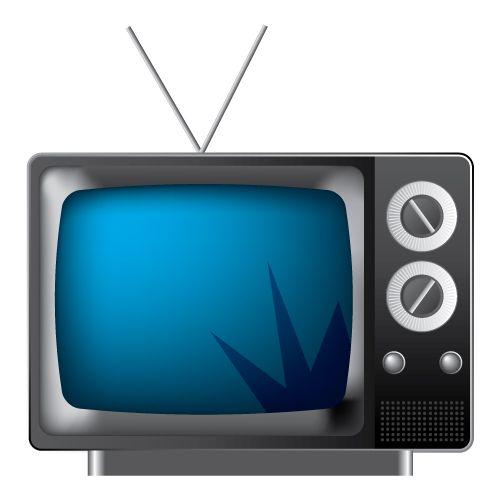 Ilustración vectorial, de un televisor ochenteron hecho con la herramiente Adobe Illustrator, siguiendo el siguiente tutorial: http://www.vectordiary.com/illustrator/vector-retro-television-tutorial/ #illustrator #ilustración #vector #vectorial #digital #art #tv #retro #vintage #draw #dibujo #80s #ochentas #screen #tele #television