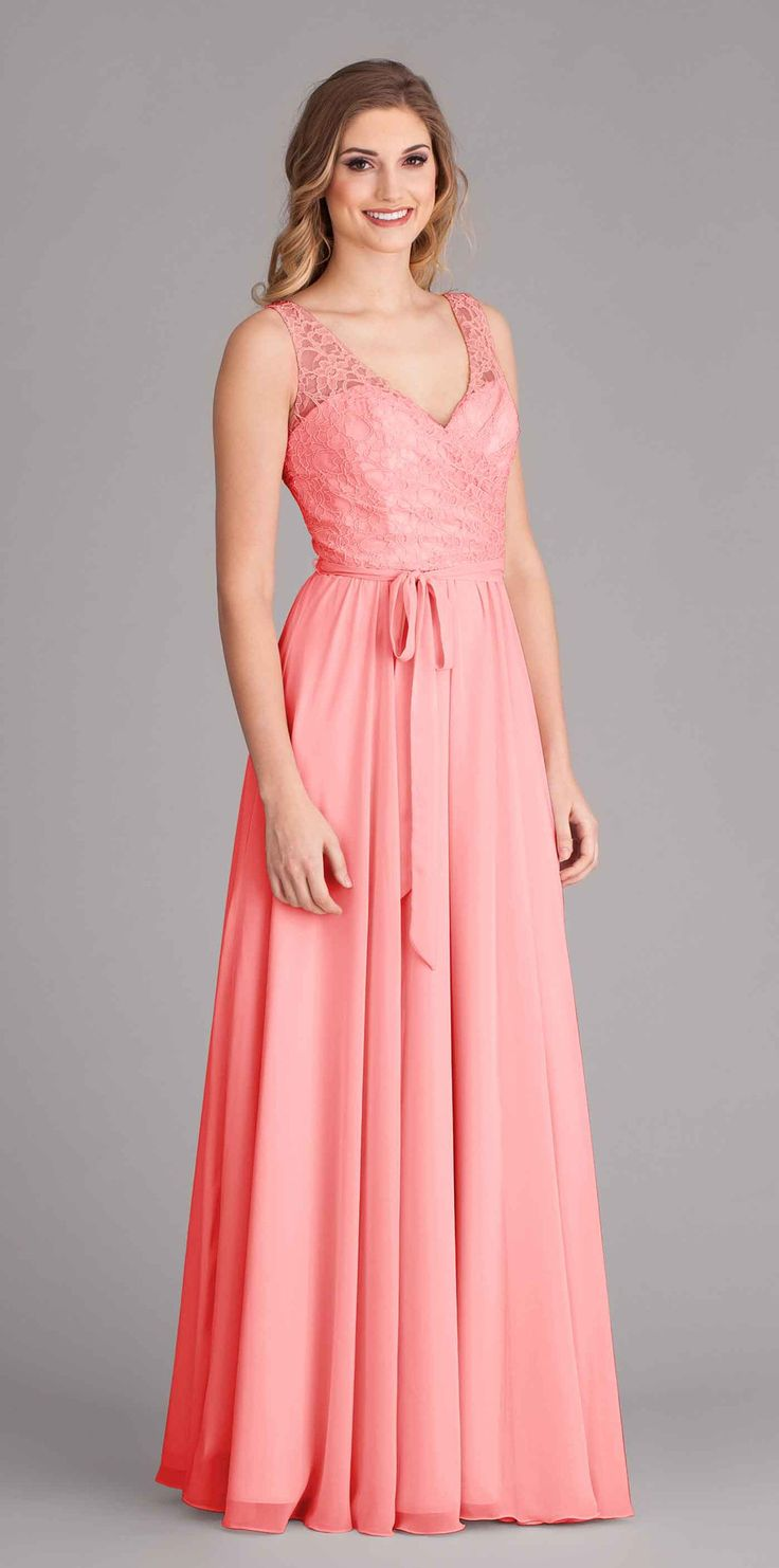 Elegant and unique, Kennedy Blue Brooke is a gorgeous lace top bridesmaid dress your girls will look beautiful wearing on your big day! Kennedy Blue Brooke has a gorgeous lace bodice with a sleeveless
