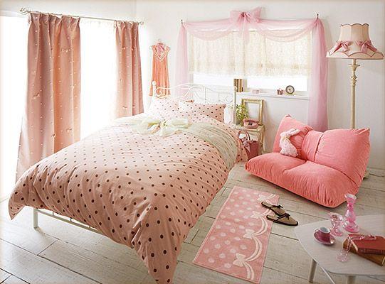 お部屋に帰ったら、可愛いものに囲まれたいの