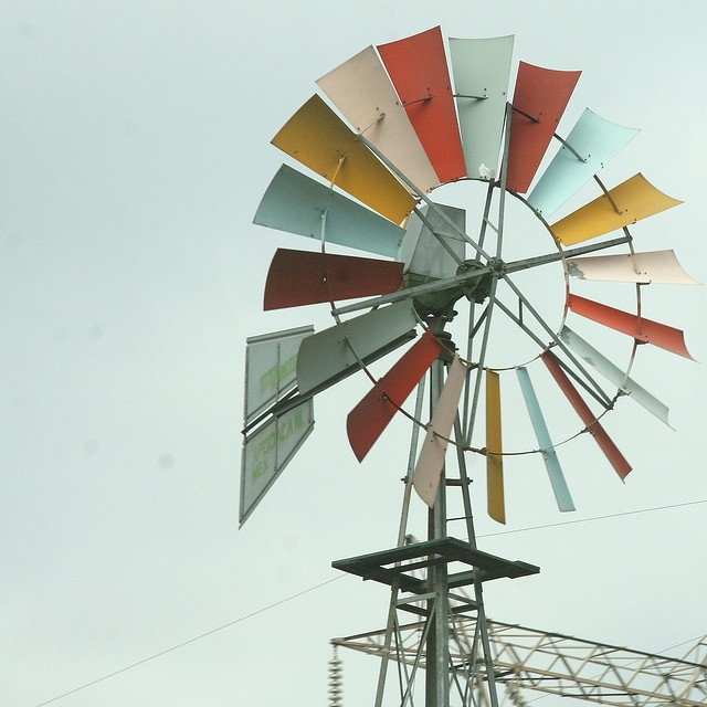 i have this windmill that i want to paint... maybe like this?