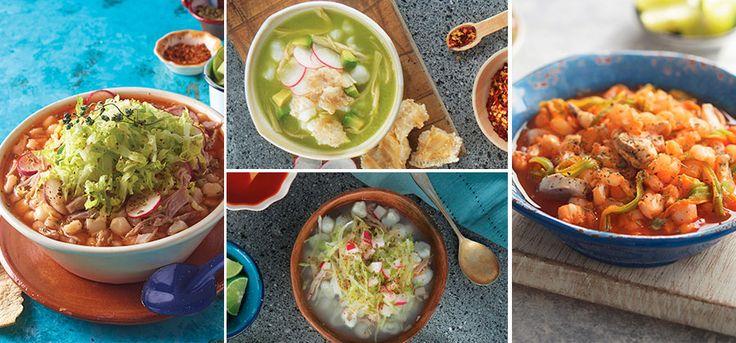 Sorprende a tu familia con estas 4 deliciosas formas de preparar pozole, seguro les encantarán. Ya sea rojo, blanco o como lo prefieras es delicioso