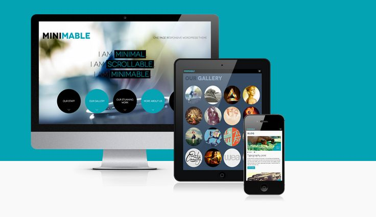 Free 10 Single Page WordPress Theme