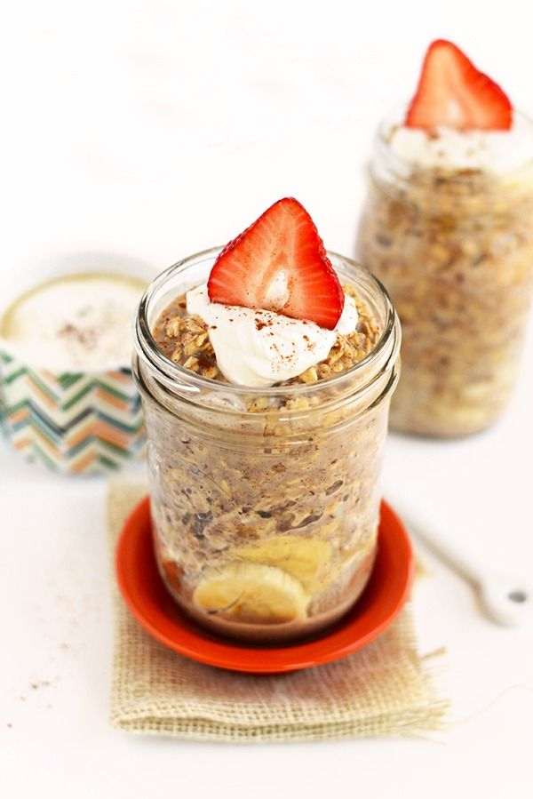 MAPLE FRENCH TOAST OVERNIGHT OATS