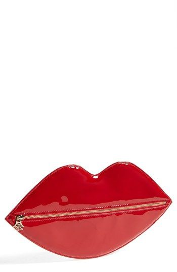 Charlotte Olympia Lip Shaped Clutch available at #Nordstrom