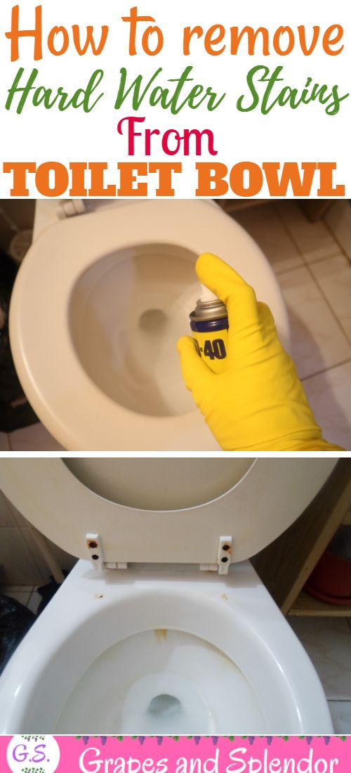 How To Get Rid Of Calcium Deposits In Toilet Bowl