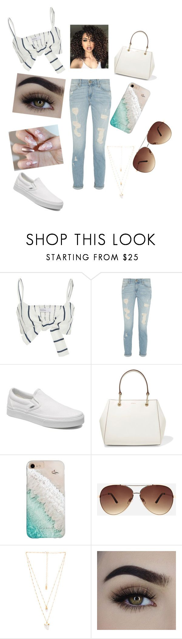 """""""Feeling Like Me 💕"""" by mixed-radiance ❤ liked on Polyvore featuring Faithfull, Vans, DKNY, Gray Malin, Ashley Stewart, Natalie B and ASAP"""