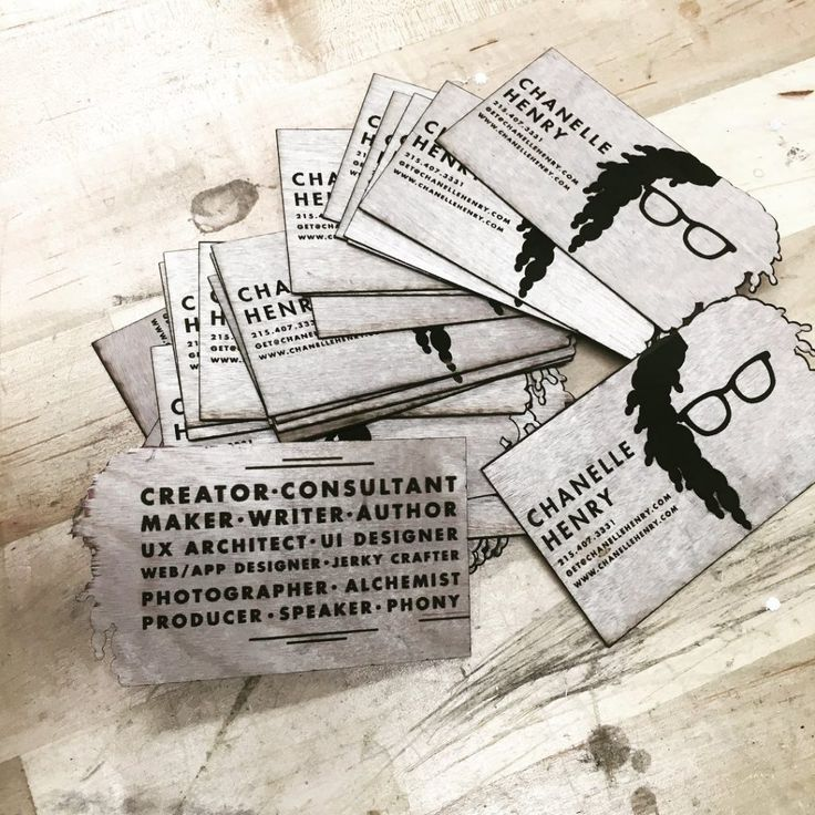 Self-made Real Wood Business Cards | Business Cards | Pinterest ...