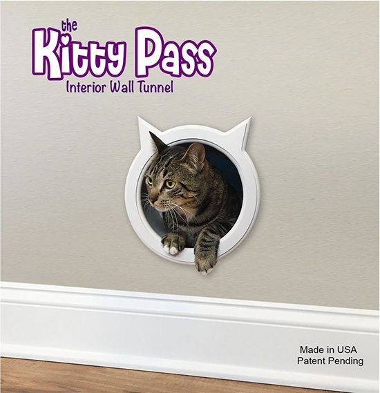 Kitty Pass Wall Tunnel Cat Door