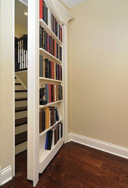 Closet Door Alternatives Ideas best 25 sliding doors ideas on pinterest Wardrobe Door Makeover Ideas Psst 5 Hidden Storage Tactics That No One Ever Saw Coming Bookcase Closet Doorsecret