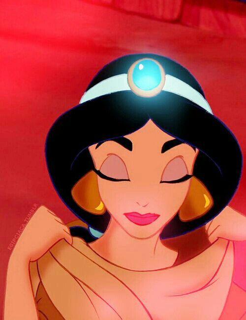 Tatted up disney princess jasmine