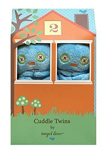 """Share and share alike"""" Angel Dear's new Cuddle Twins are a perfect gift for a new born. Two identical blankies are housed in an adorable, reusable box.       Famous Words of Inspiration...""""If destruction be our lot, we must ourselves be its author and finisher. As... more details available at https://perfect-gifts.bestselleroutlets.com/gifts-for-babies/toys-games-gifts-for-babies/product-review-for-angel-dear-monster-blue-robot-twin-set-blankies"""