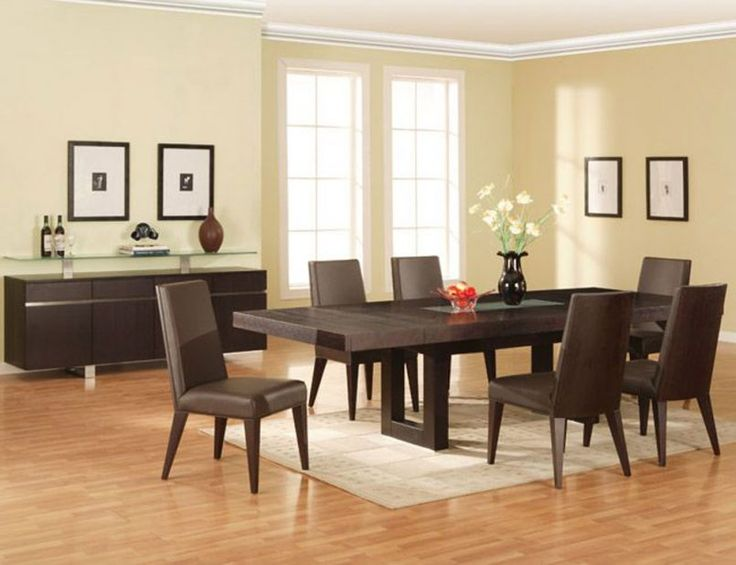 25 best ideas about contemporary dining room sets on pinterest dining room modern gray - Elegant contemporary dining room table ...