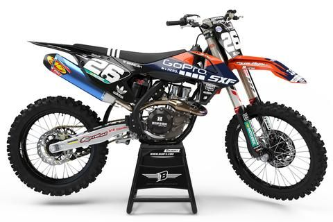 KTM GRAPHICS KIT ''TLD 2019'' DESIGN | Motocross graphics