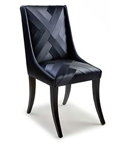 Chevron Chair - Aiveen Daly. I have always loved Aiveen's structural fabric detail.