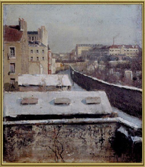Иван Похитонов «Парижское предместье»(1883)