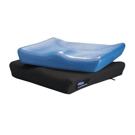 The Invacare Comfort-Mate Extra wheelchair cushion is anatomically designed to provide long-term sitting comfort and promote correct seating posture. The Invacare Comfort-Mate Extra is made from top-quality, dual-firmness, high-density and highly resilient molded foam with a waterproof coating.