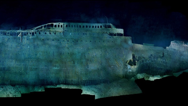 Next month is the 100th anniversary of the disastrous voyage of the RMS Titanic — the unsinkable ship that wasn't. And just in time for this momentous occasion, National Geographic is featuring the clearest, most high-resolution images of the Titanic at rest on the ocean floor.