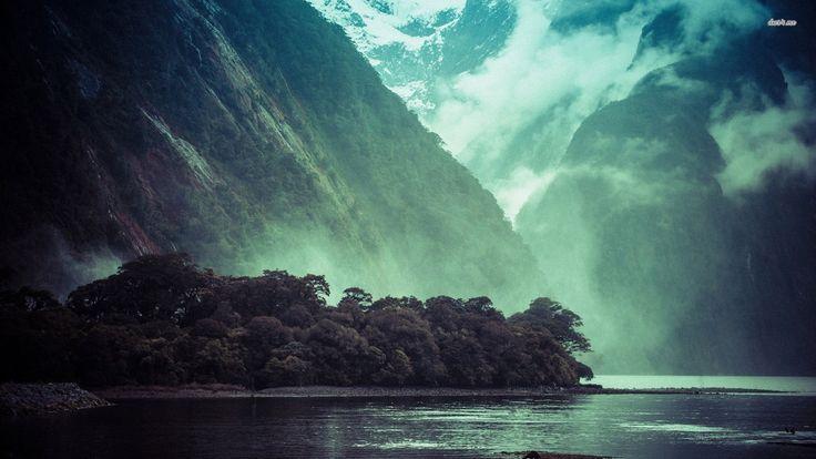 Mountain Valley HD desktop wallpaper High Definition