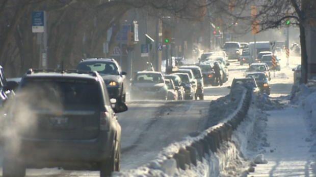 Parts of Manitoba hit -53 C, colder than Mars