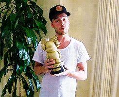 Liam accepting the Radio Disney Award #DaddyDirection