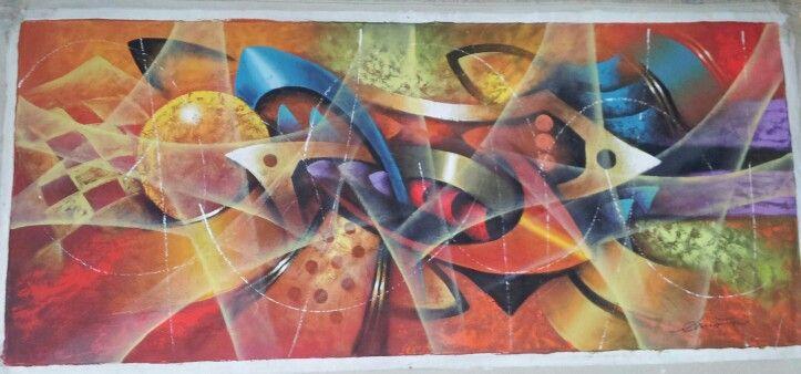 Para la sala, obra del maestro Dino Alberto Mora Aguilar.