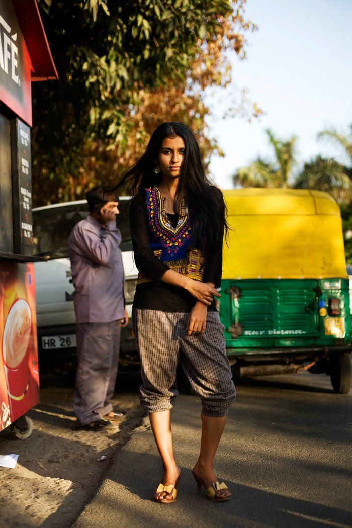 A Different Day, A Different Mood for Silver Eyes, New Delhi « The Sartorialist