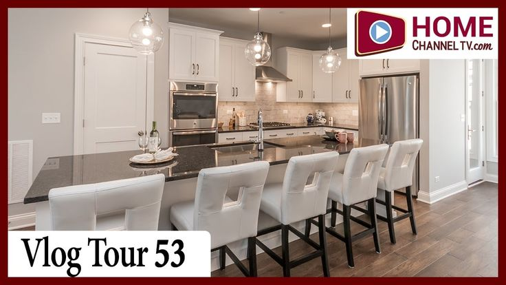 Vlog Tour 53 - Courthouse Square - Luxury Townhomes in Downtown Wheaton