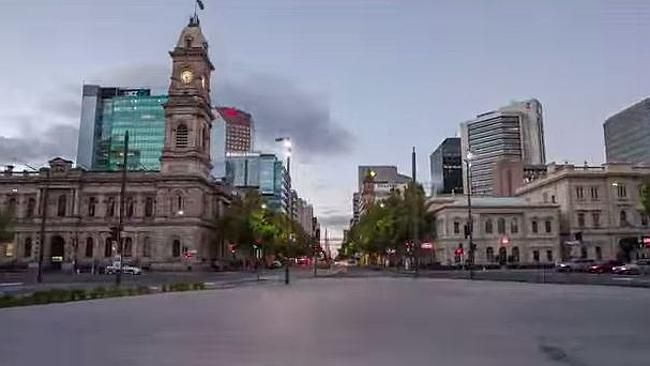 A REMARKABLE 'hyperlapse' video of the streets of Adelaide