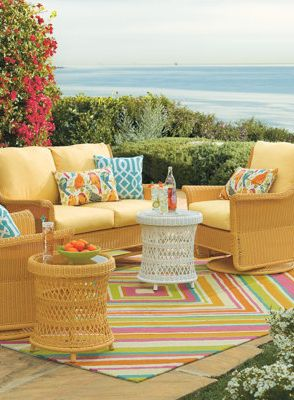 Choosing the right colors invites you to relax and linger.