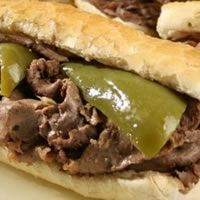 Italian Beef - best Italian Beef in the Chicago Area Portillo's or Al's.Order them dry or wet --they dip them in the beef juice. Sure miss those sangwiches (as Mom calls them )