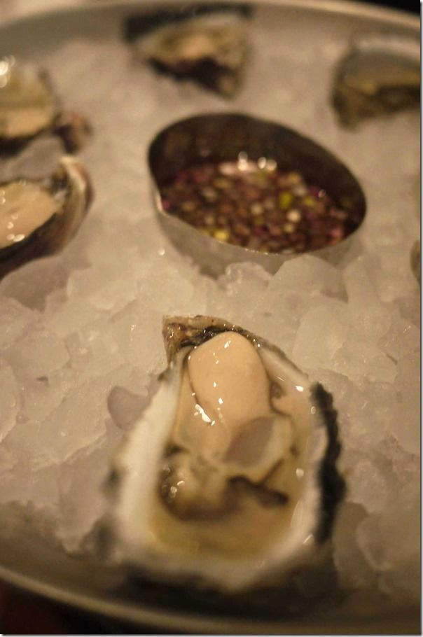 Pacific oyster from Coffin Bay in South Australia ~ rich, plump and creamy