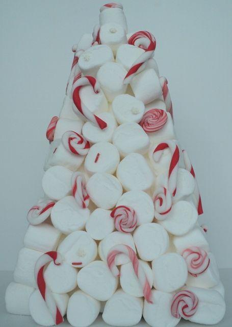 marshmallows 'Xmas tree