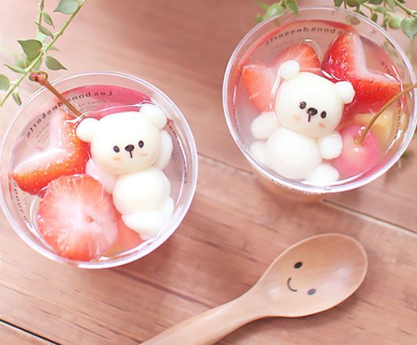 The Japanese have long established themselves as the experts of cute. When it comes to food, they can make it so awwdorable, that you will cry bitter tears blaming yourself for having eaten that sugary kitten. A&D is on a mission to compile the ultimate list of both cute and mouth-watering Japanese sweets. Post your pics or upvote the cutest ones, let's make the world a sweeter place! (H/T: Bored Panda)