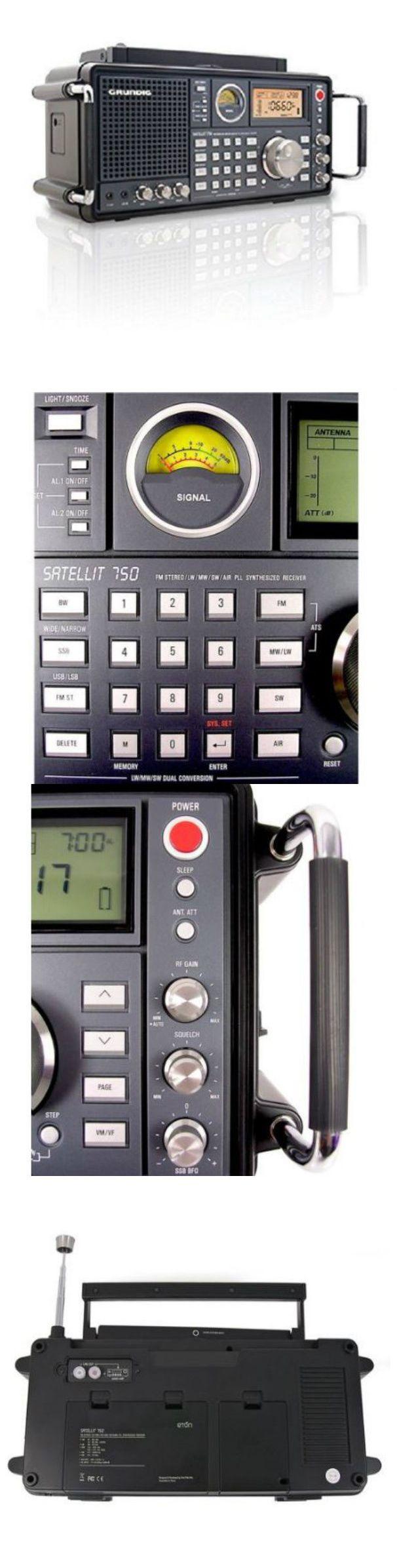 Ham Radio Receivers: Small Portable Radio Survival Dual Alarm Shortwave Receivers Eton Grundig Stereo -> BUY IT NOW ONLY: $424.99 on eBay!